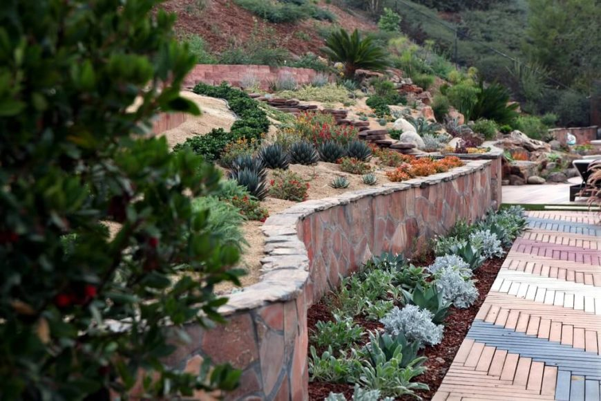 In Drier Areas Where Plant Life Is Not As Lush, Adding Rocks Into  Landscaping Can