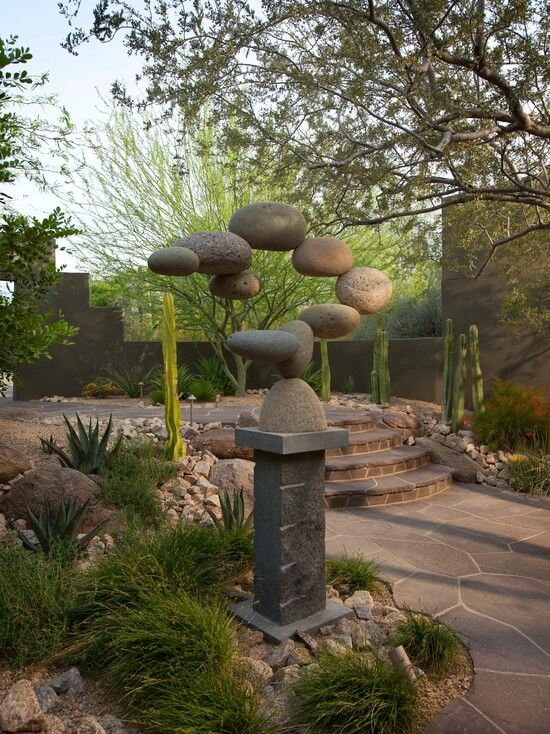 32 Backyard Rock Garden Ideas on Rocks For Backyard  id=30561