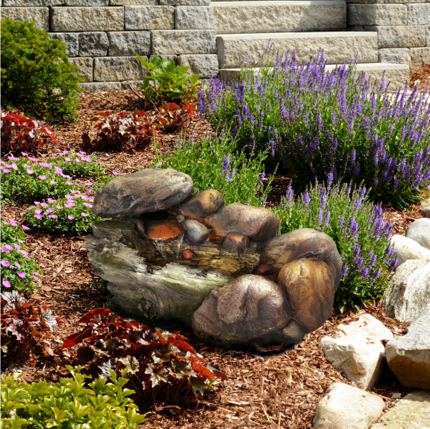 Attractive A Small Stone Feature Can Make A Great Addition To A Garden. This Small  Stone