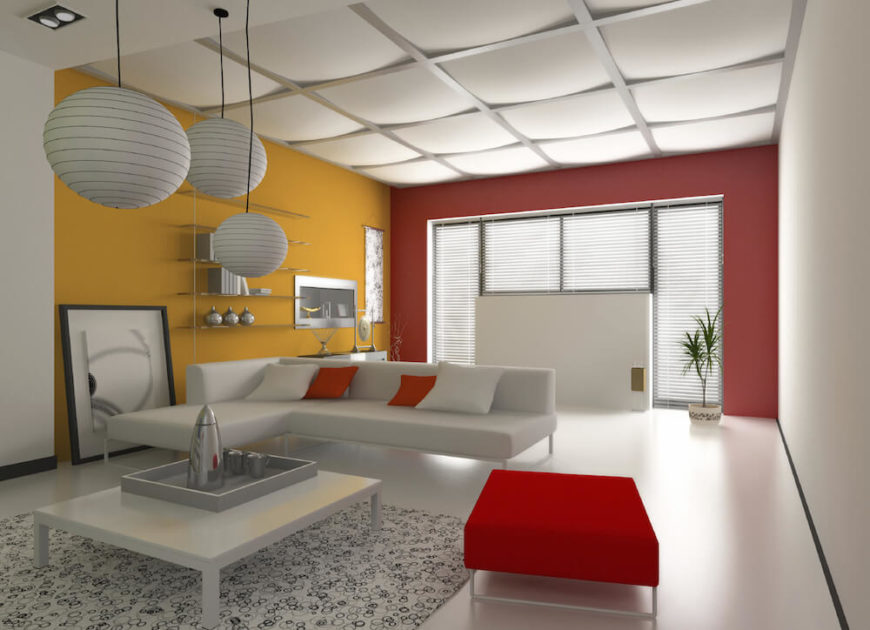 26 interesting living room d cor ideas definitive guide for Suspended ceiling designs living room