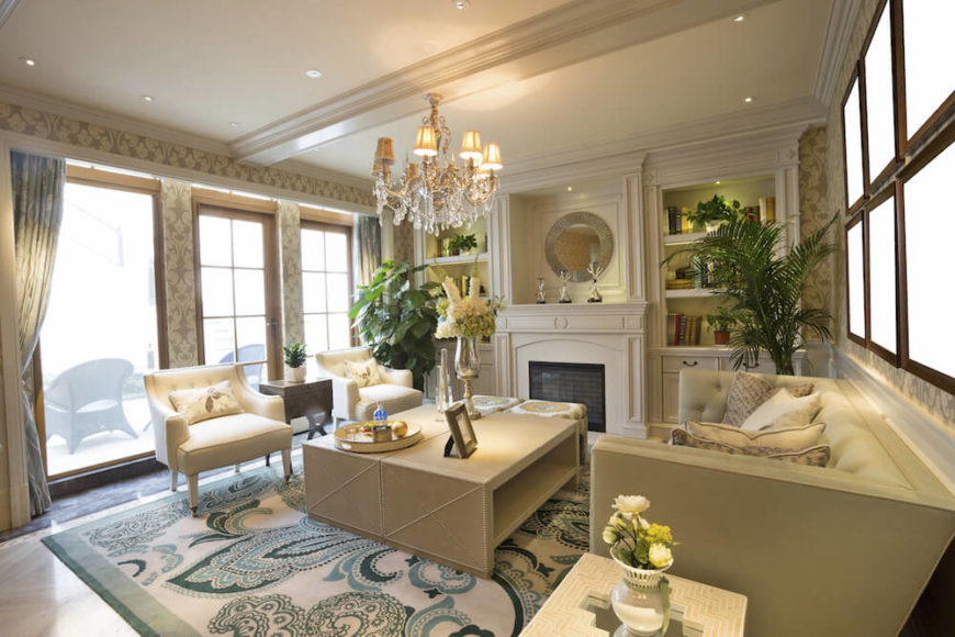 Chandeliers Are An Elegant Way To Light A Room, Although They Usually  Require Recessed Lighting