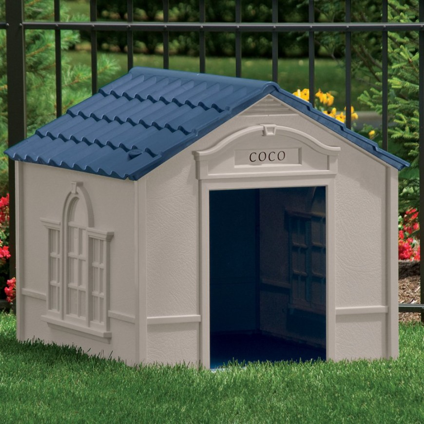 34 doggone good backyard dog house ideas for 2 large dog house
