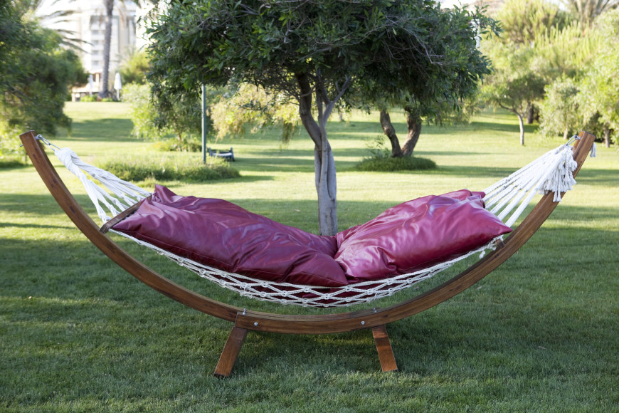 If you don't find your hammock comfortable enough, you can add pillows and cushions to really make it a luxurious and plush relaxation experience.