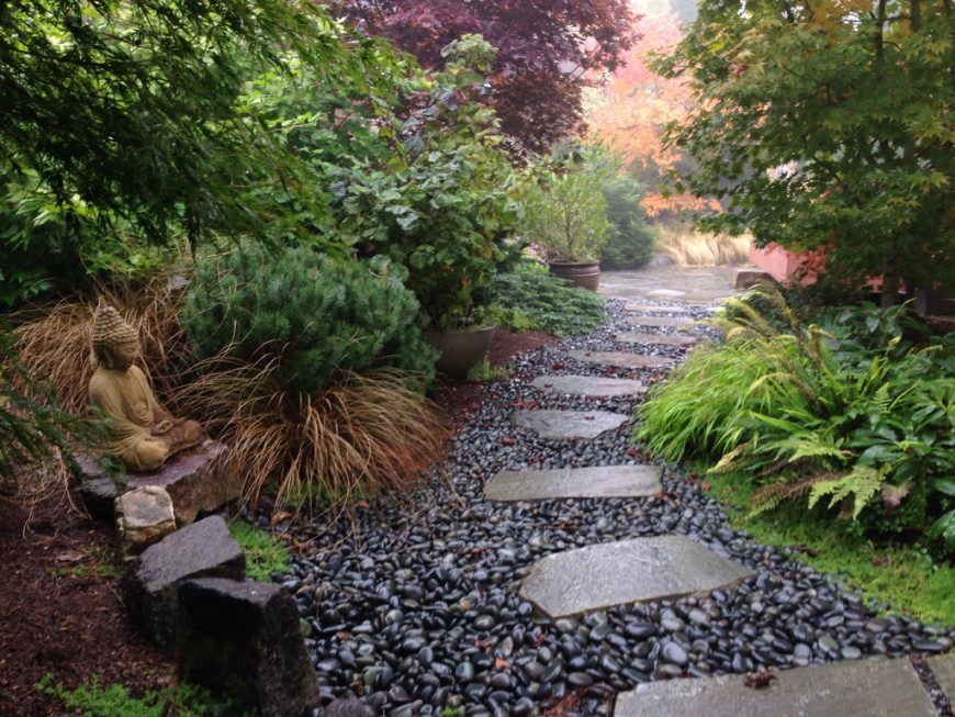 38 glorious japanese garden ideas for Small japanese garden layouts