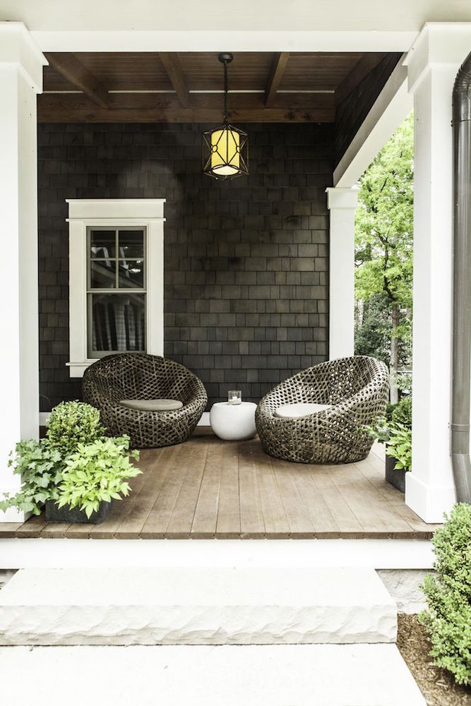 If you have a small outdoor space to light up, a single hanging light can do the trick. There are so many styles of lights that you are sure to find a stylish and functional light to fit your space.