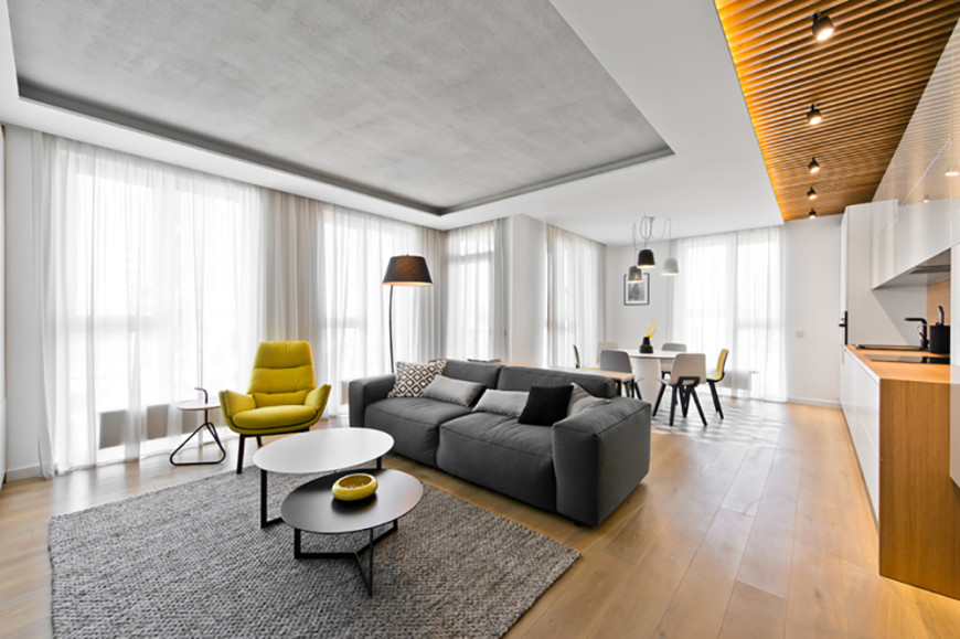 Elegantly Modern Vivulskio Street Apartment by InArch