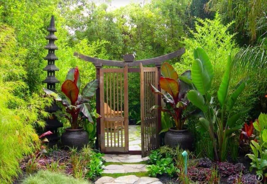 34 vibrant plant garden ideas home stratosphere for Japanese themed garden plants