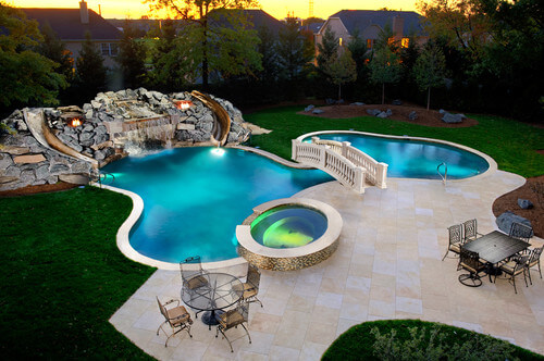 28 remarkable backyard waterpark ideas home stratosphere for Pool design hours