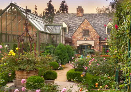 This garden is the green thumb's paradise. There are so many different kinds of plants mixed and matched to make a full and pleasing garden. There is even a greenhouse section for plants that need the extra care.