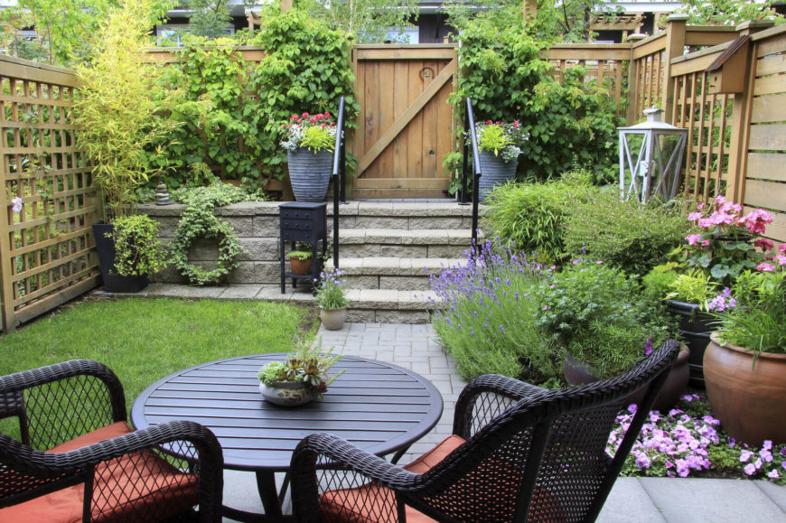Beau This Yard May Be Small But It Holds A Number Of Amazing Plants. The Small