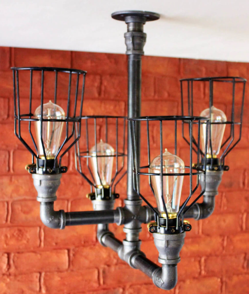 Ultimate Guide To Bedroom Ceiling Lights: 35 Industrial Lighting Ideas For Your Home