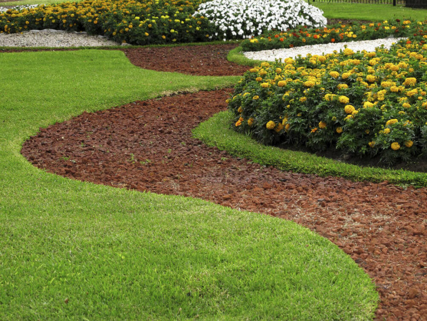 Remarkable Backyard Grass Ideas - Backyard lawn ideas